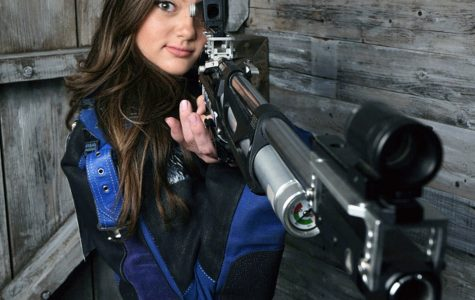 GUNNING FOR THE TITLE: Senior Brianna Citrigno is the top-ranked junior marksman in California