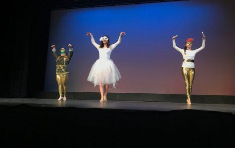 Abundant diversity at dance show
