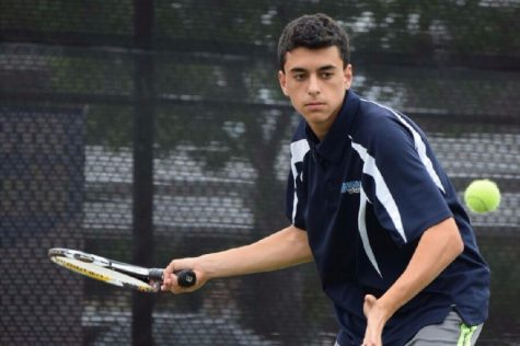 Freshman is an ace at tennis