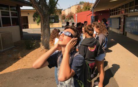 Eclipse captivates Branham
