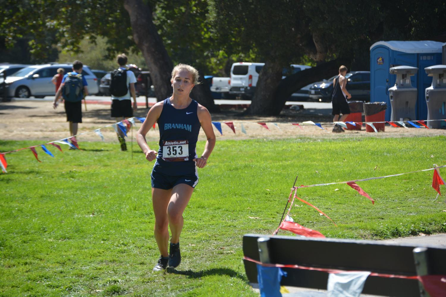 Successful invitational outing caps mixed week for cross country