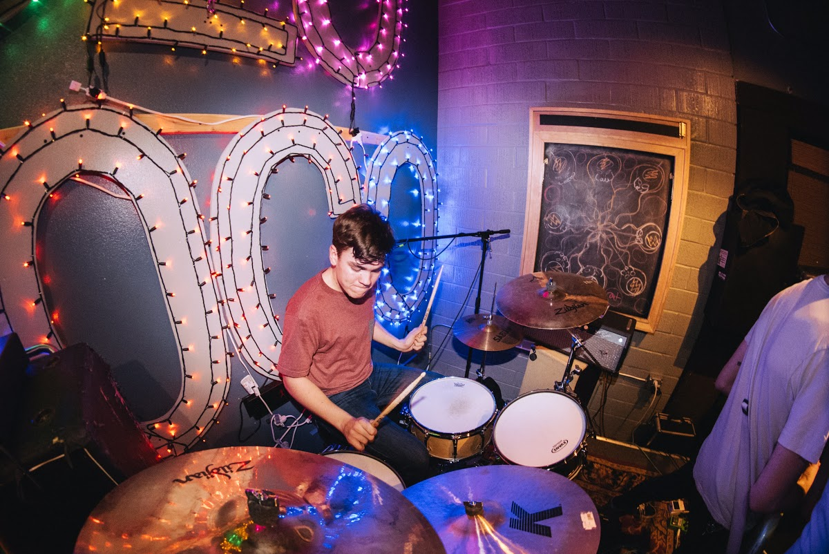 For Senior Dylan Moore, spending plenty of time touring is nothing unusual. With his band, Get Married, the drummer immerses himself in the music, and manages to balance it with his schoolwork.