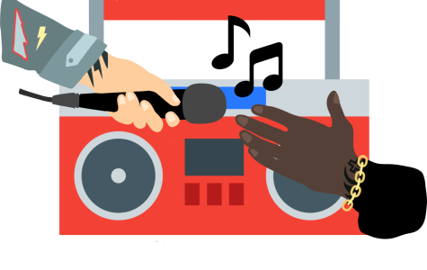 On social issues, Rappers taking over airwaves