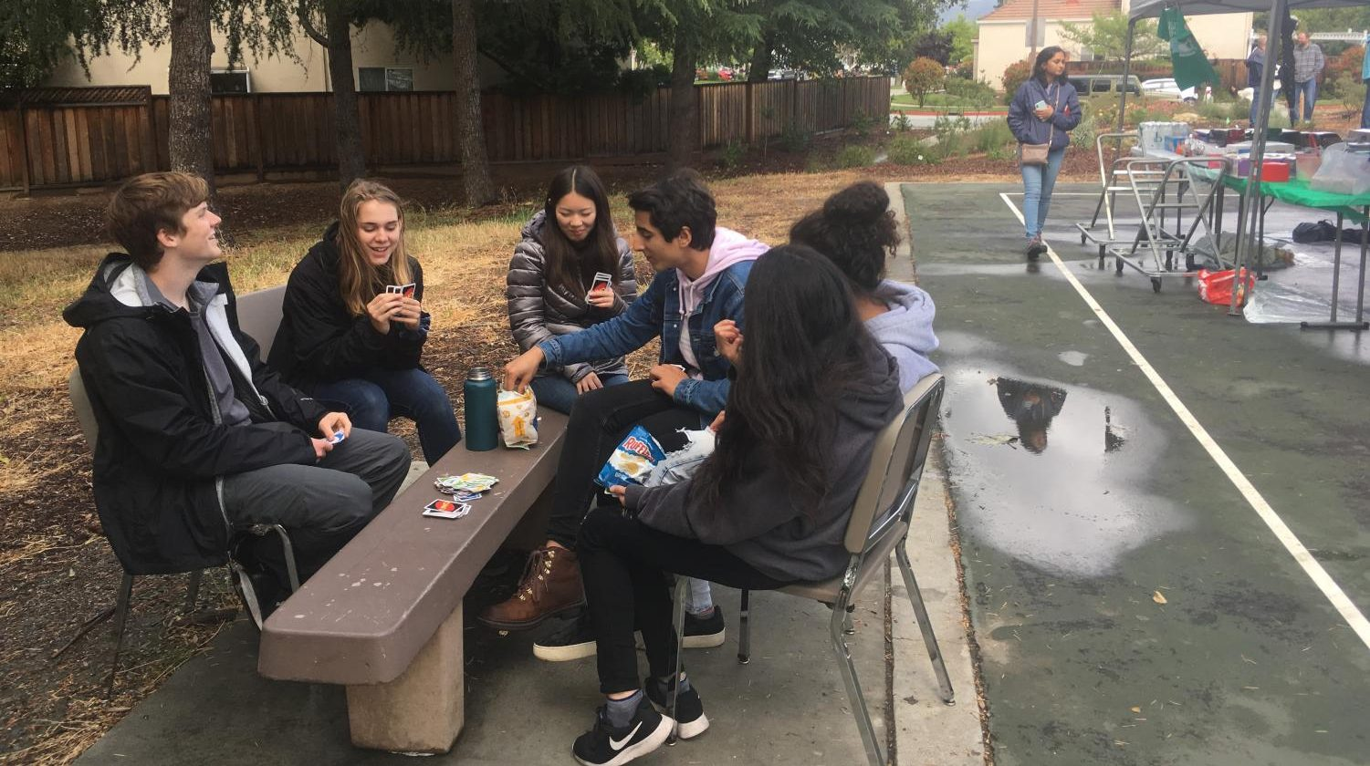 Attendees of the festival eat snacks and play games at Branham Park. SPARE is one the clubs ASB leaders say are making a bigger impact on campus.